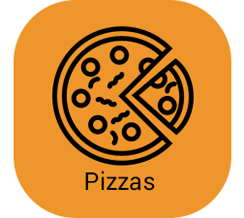Pizzas com cheddar