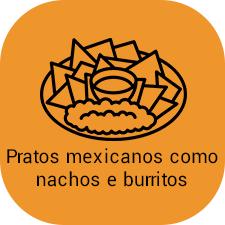 nachos com cheddar