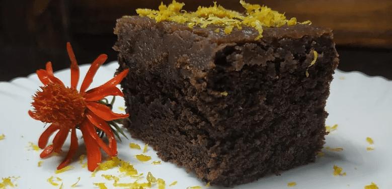 Bolo de Chocolate com Vereda Gourmet